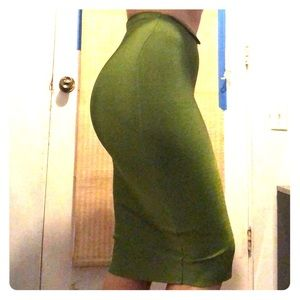 Dresses & Skirts - Green bandage skirt